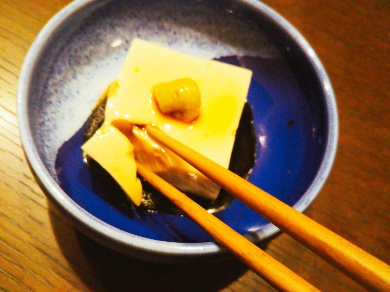 ごま豆腐箸入れ