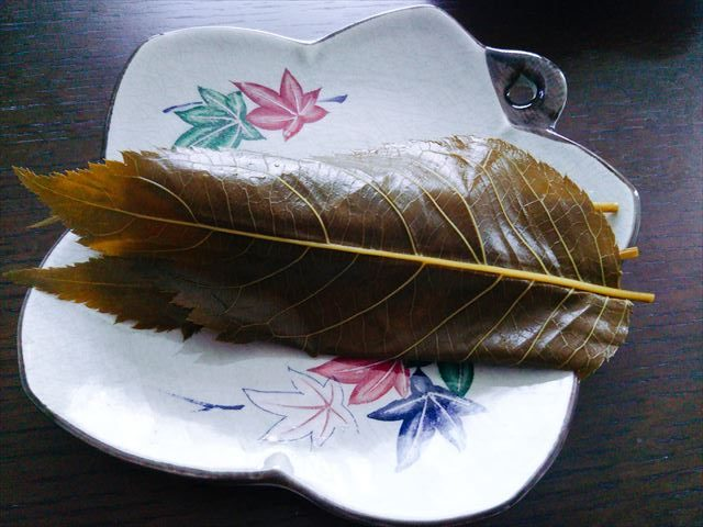 長命寺風桜餅