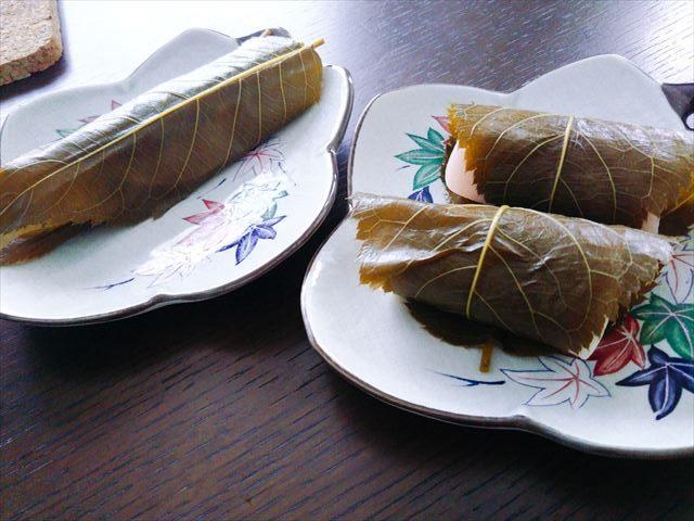 関東風桜餅二種類