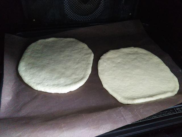 オーブンに入れる