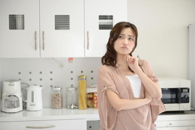 キッチンで悩み