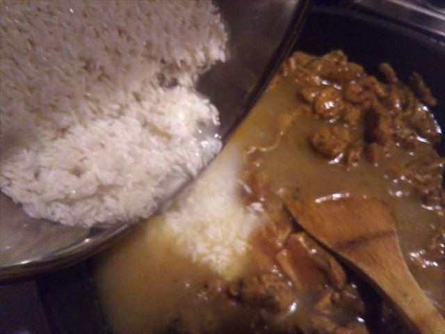 米を入れる