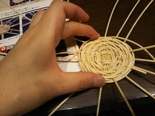 渦巻き編み