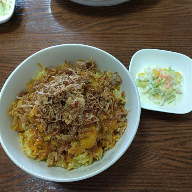 ビリヤニ丼